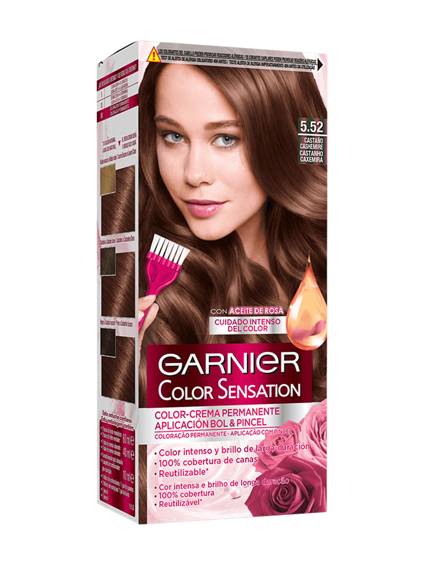 Color Sensation Castaño Cashemire 5.22