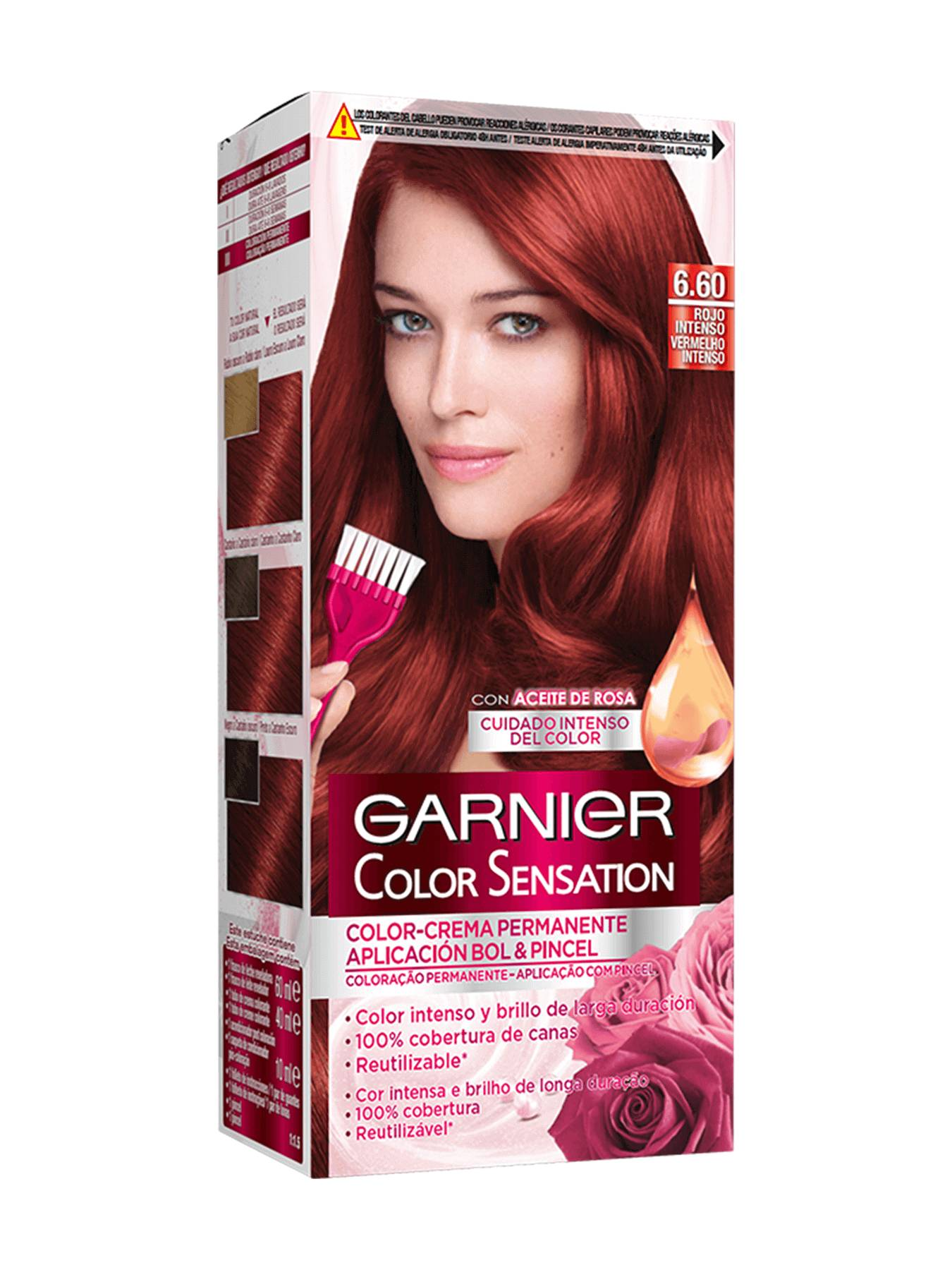 Color Sensation Rojo Intenso 6.60