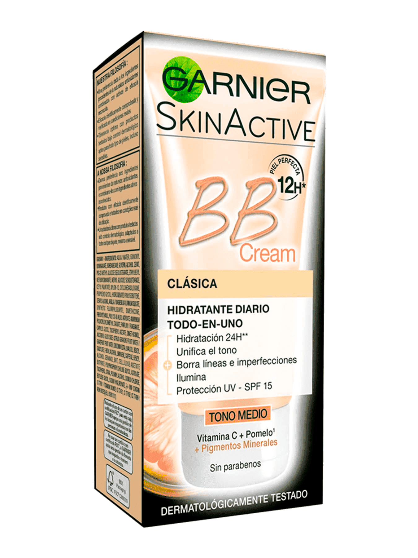 BB Cream Clásica Tono Medio